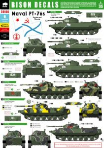 BD35156  Naval Infantry PT-76. Soviet and Russian PT-76 and PT-76B